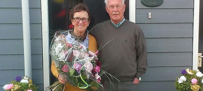 Rien en Harry Jansen 50 jaar getrouwd!