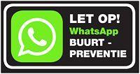 Buurt WhatsApp!